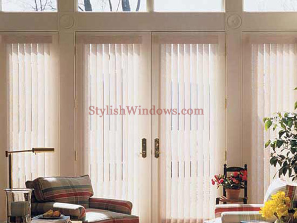 Custom vertical blinds in new york city nyc brooklyn for Living room vertical blinds